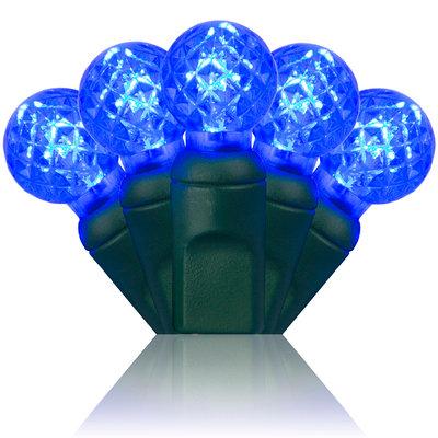 G12 Razzberry Blue LED Christmas Lights