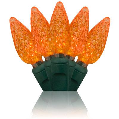 Amber C6 LED Stringer 24'