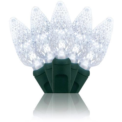 Cool White C6 LED Stringer 24'