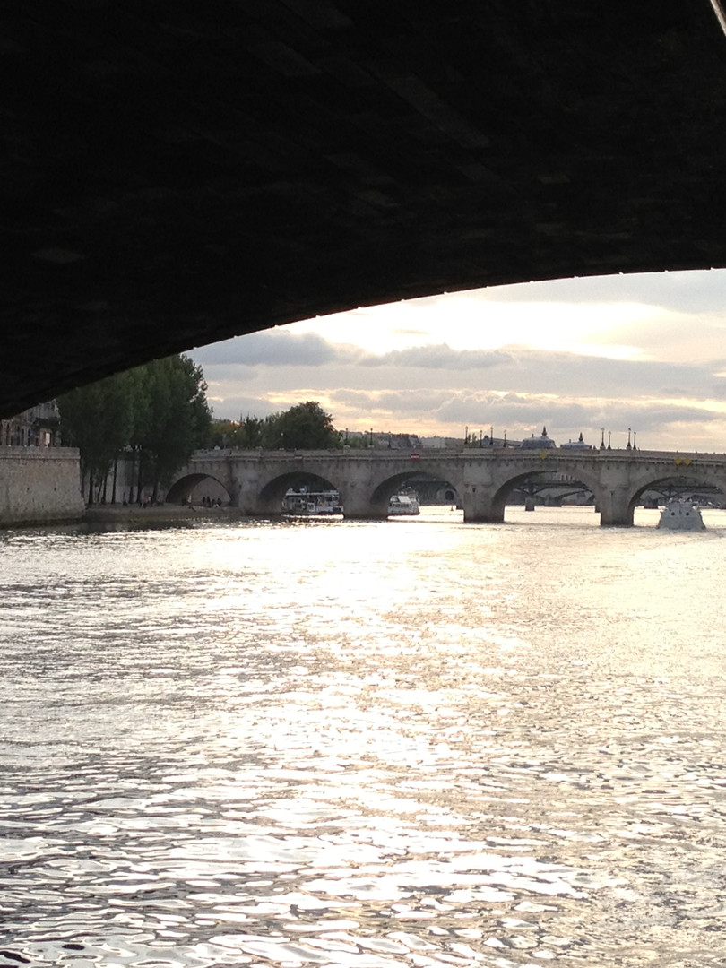Along Paris Seine river