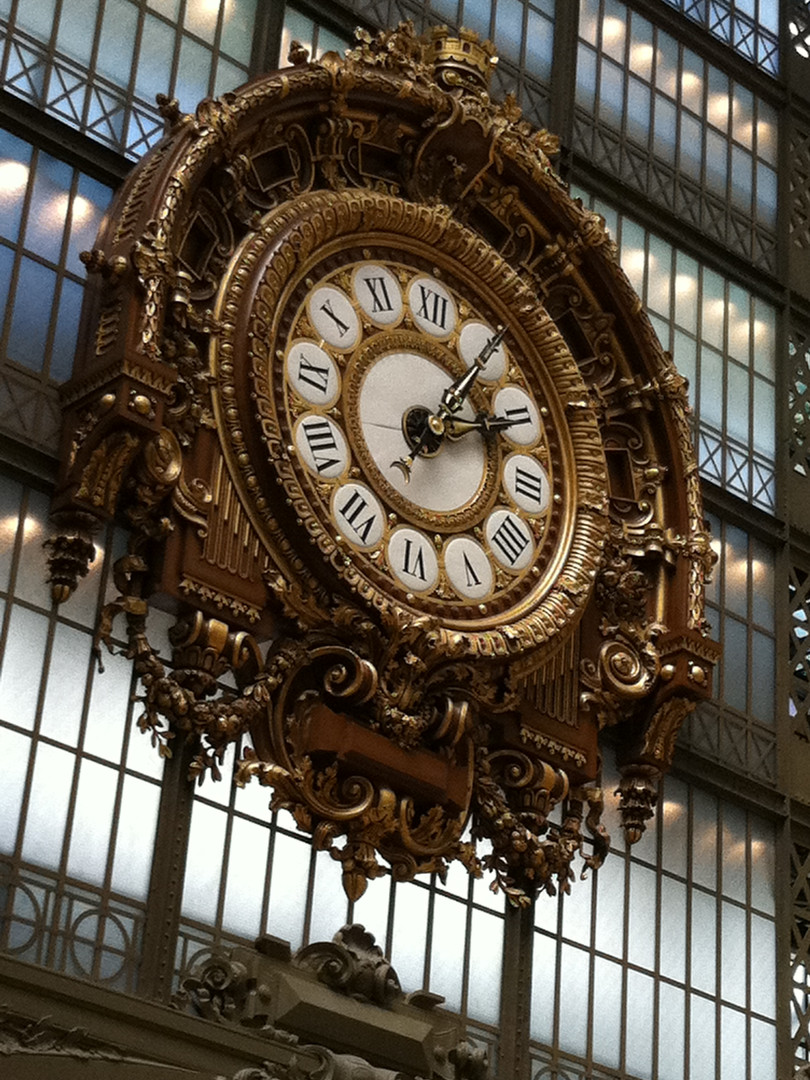 Tic Tac Tic Tac... no more trains at the Musee d'Orsay