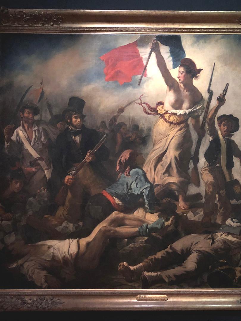 La Liberte guidant le peuple, Delacroix