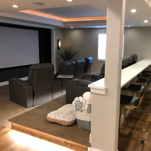 Finished Basement | Wet Bar | Home Theater