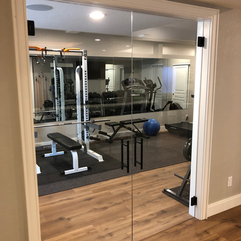 Finished Basement | Workout room | fitness