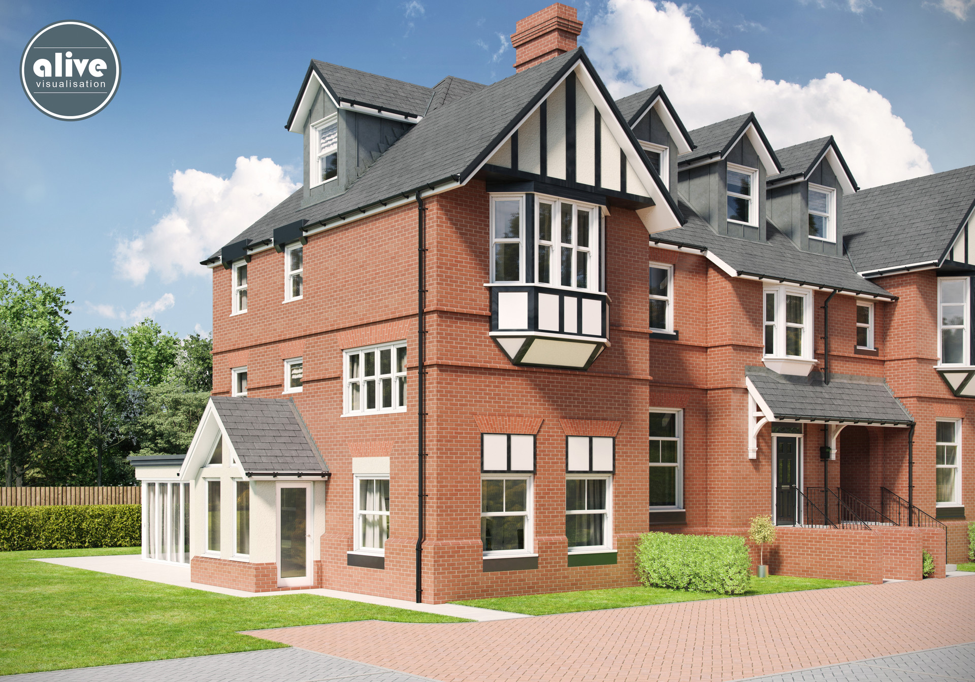 Property Sales House CGI