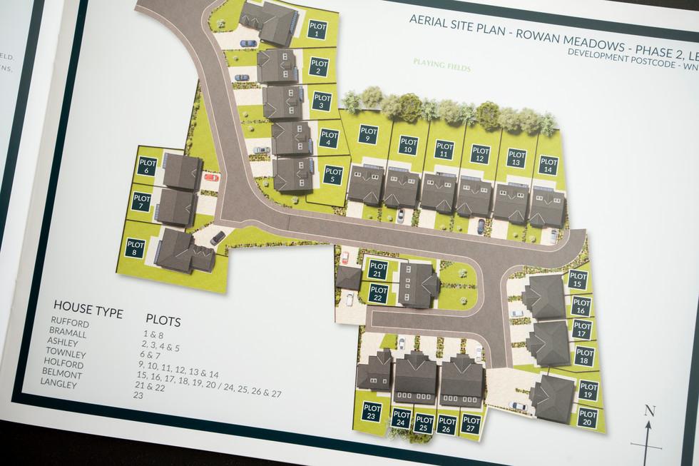 Aerial Site Plan in 3D