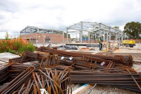 Construction Site Photographers Liverpool.