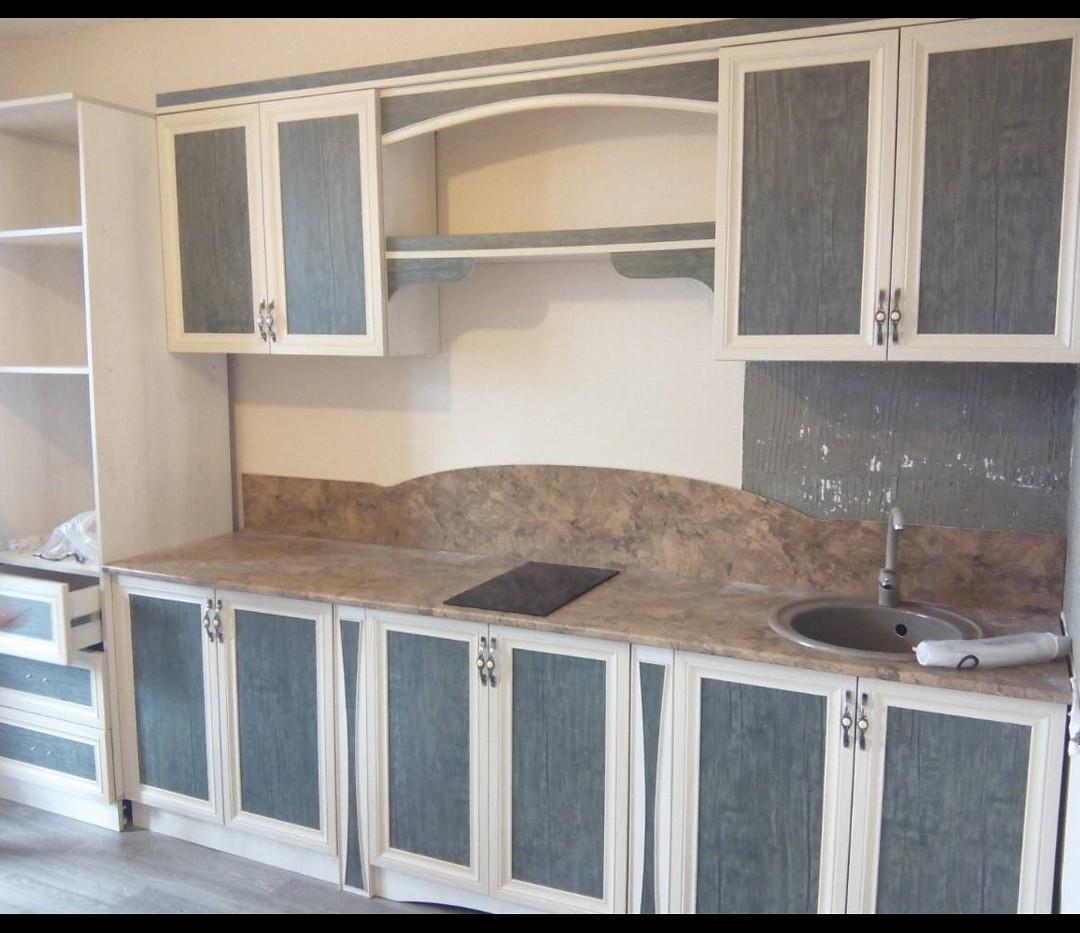 Кухонный гарнитур Античная зелень