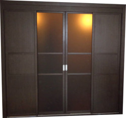 Встраиваемый шкаф купе Двери