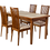Thumbnail: Стол № 6 раздвижной Орех светлый