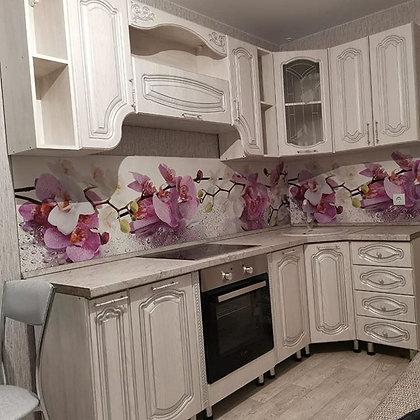 Кухонный гарнитур Серебро