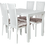 Thumbnail: Стол Комильфо белый глянец