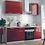 Thumbnail: Кухонный гарнитур Гранат 1,5м
