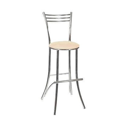 Барный стул Трио кож зам бежевый