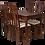 Thumbnail: Стол № 4 Орех темный