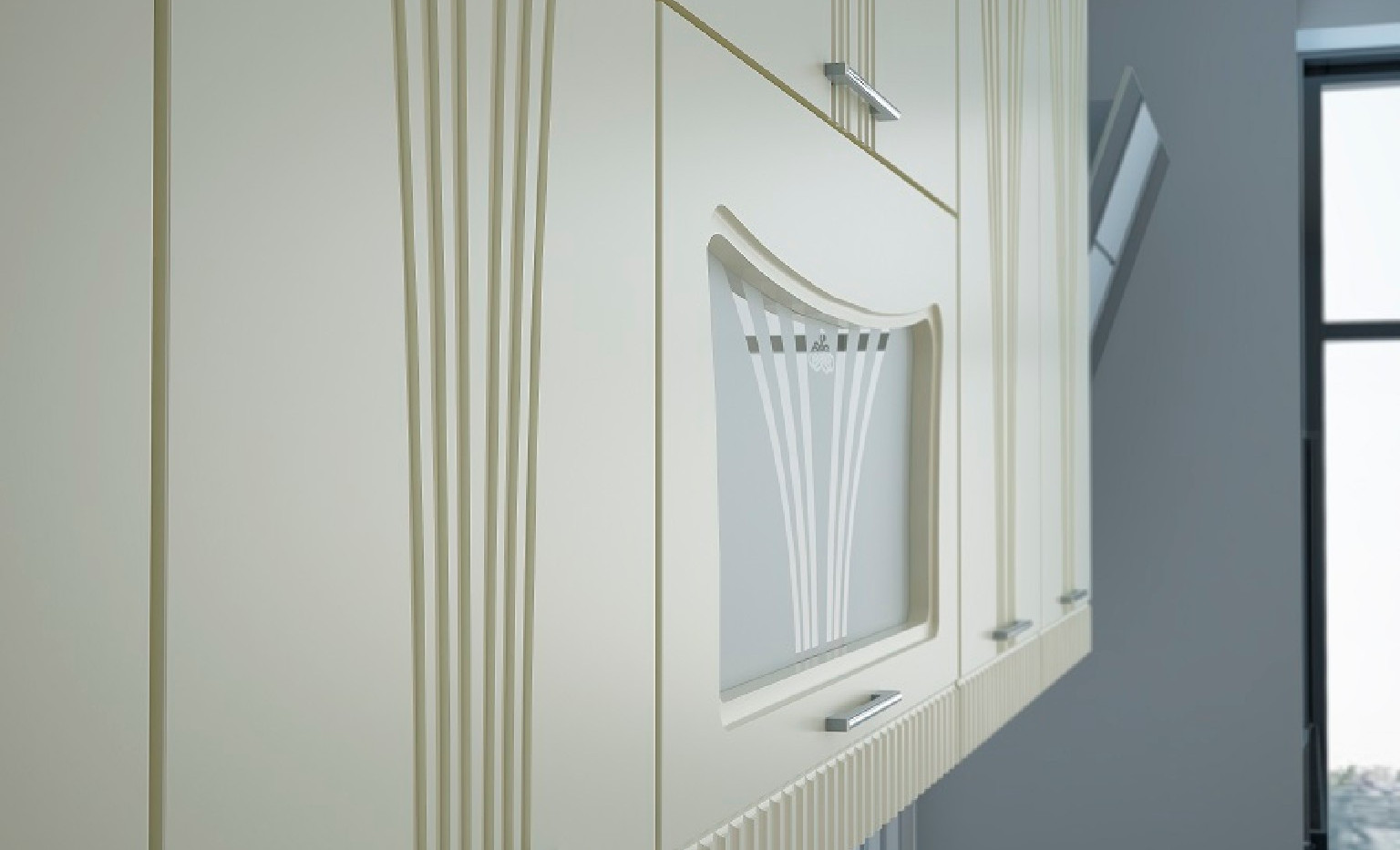 Кухонный гарнитур Лира Верхние фасады