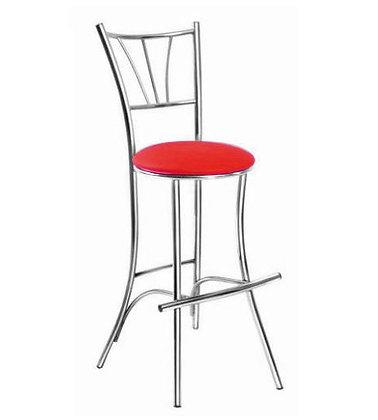 Барный стул Трилогия Красный