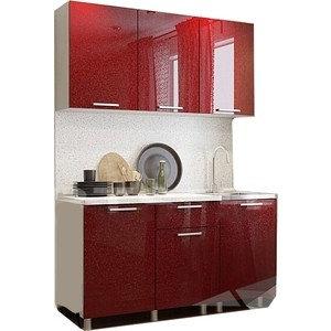 Кухонный гарнитур Гранат 1,5м