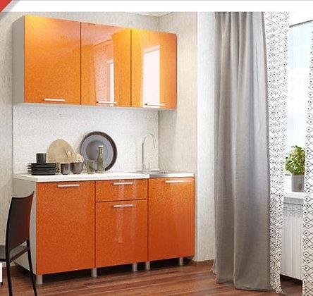 Кухонный гарнитур Оранж 1,5м