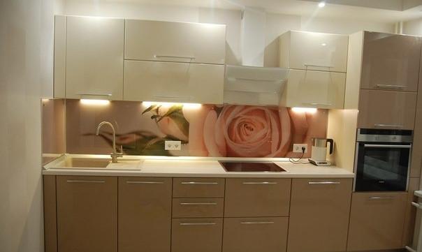 Кухонный гарнитур крем, бьянка