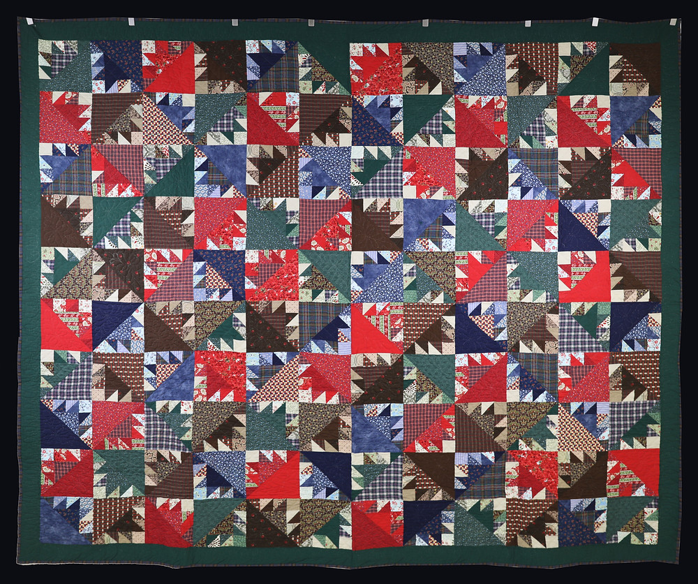 Kansas Troubles 1 Quilt by Becky Neuenschwander