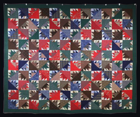 Kansas Troubles 1 Quilt by Becky Neuenschwander