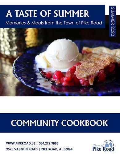 PIKE ROAD COMMUNITY COOKBOOK SUMMER 2020