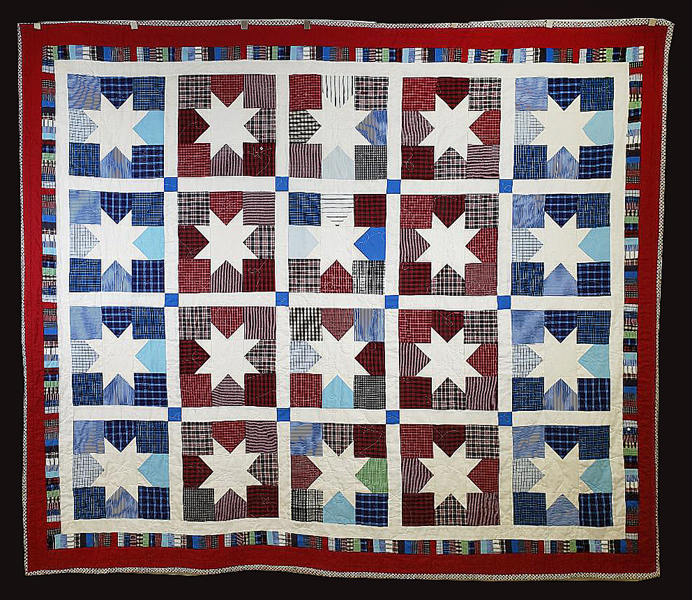 Star Pattern Quilt by Susan Brannon Auvil