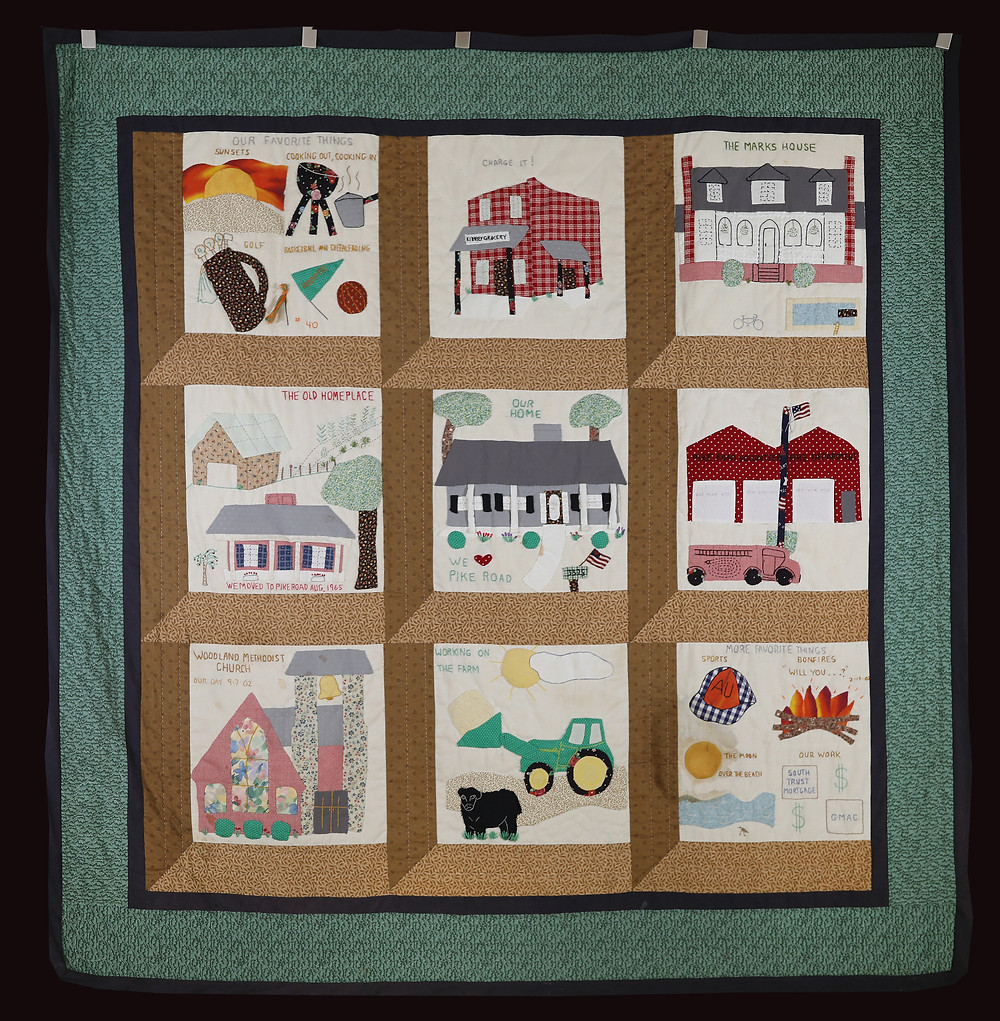 Our Life in Pike Road Quilt by Linda Stringer