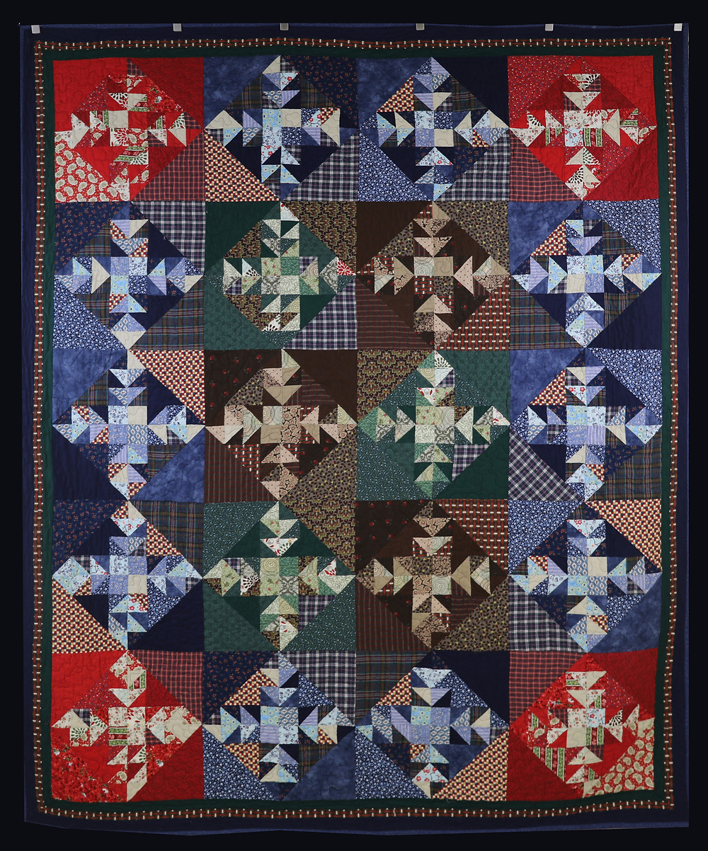 Kansas Troubles 2 Quilt by Becky Neuenschwander