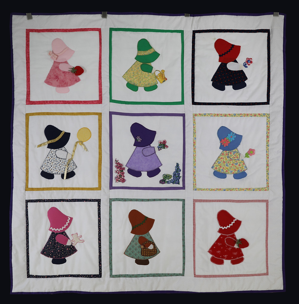 Sun Bonnet Sue Quilt by Evielean Howell