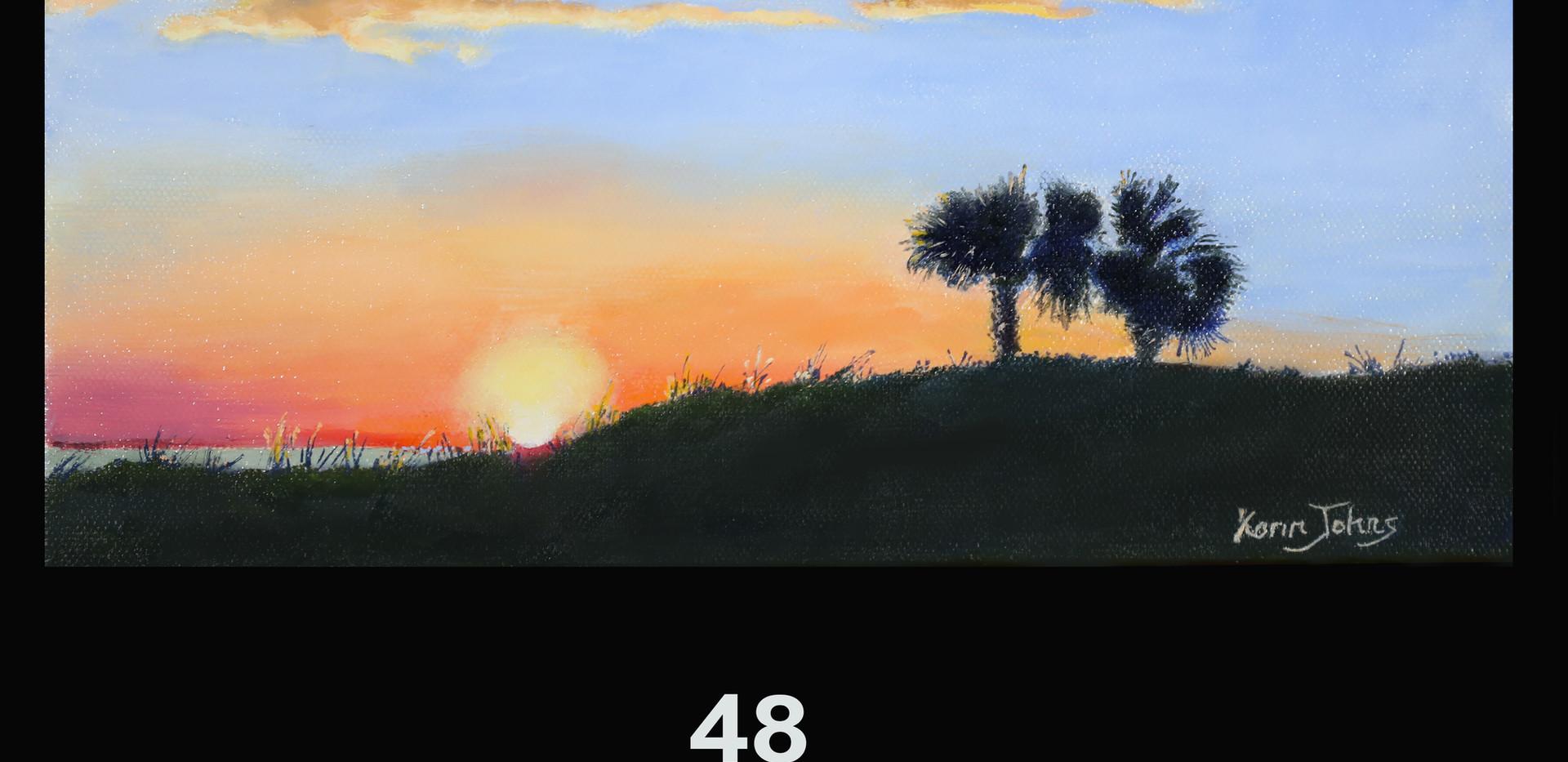 48. Sunset at the Gulf