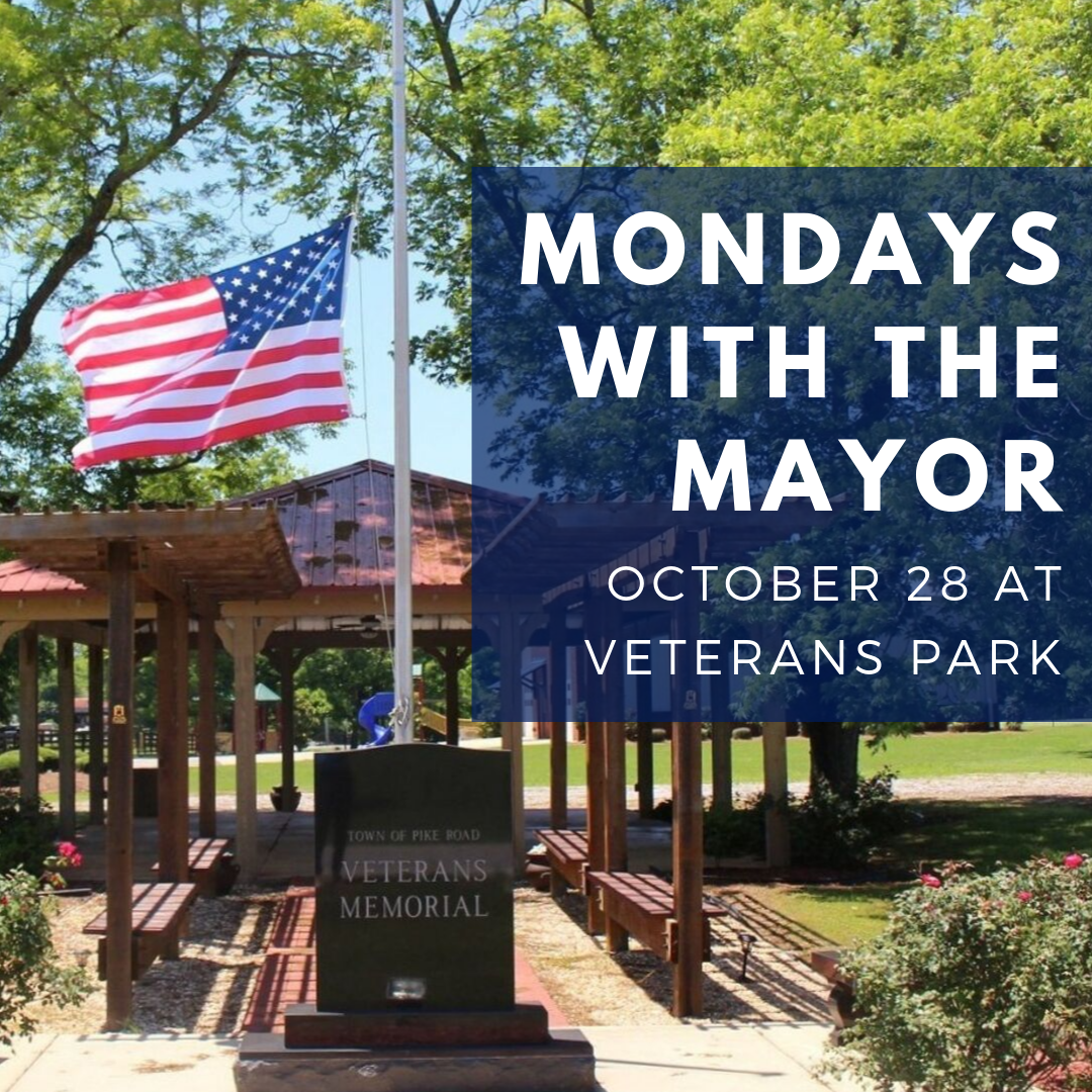 Mondays with the Mayor at Veterans Park