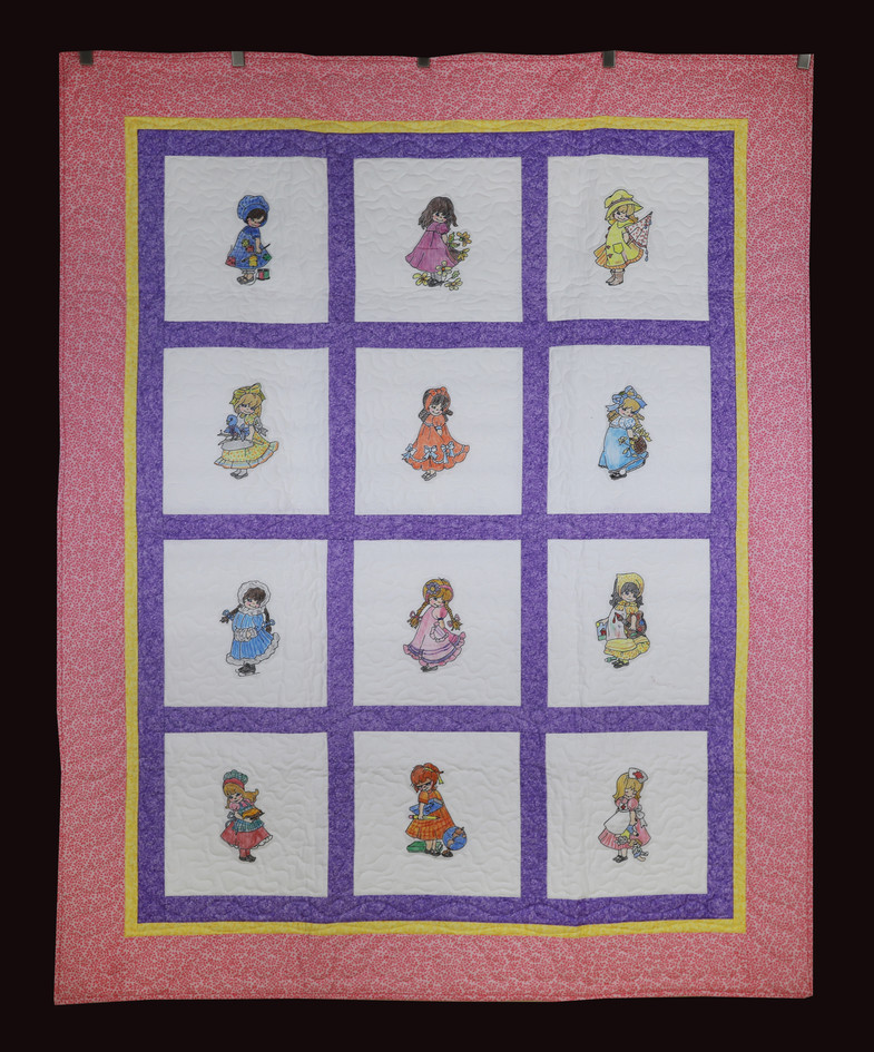 Sweet Little Girls Quilt by Dee Mueller