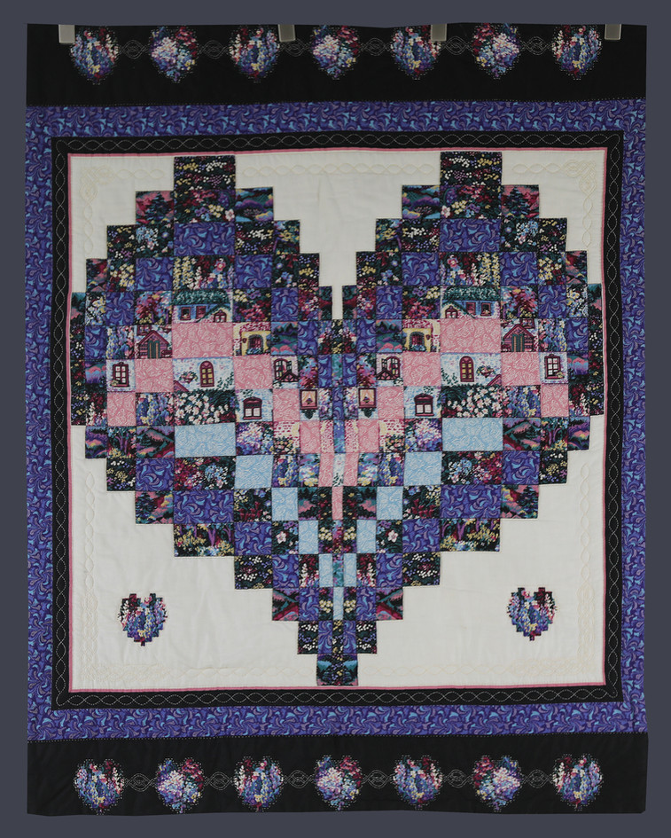 Love Quilting Wall Hanging by Charlene Howell Rabren