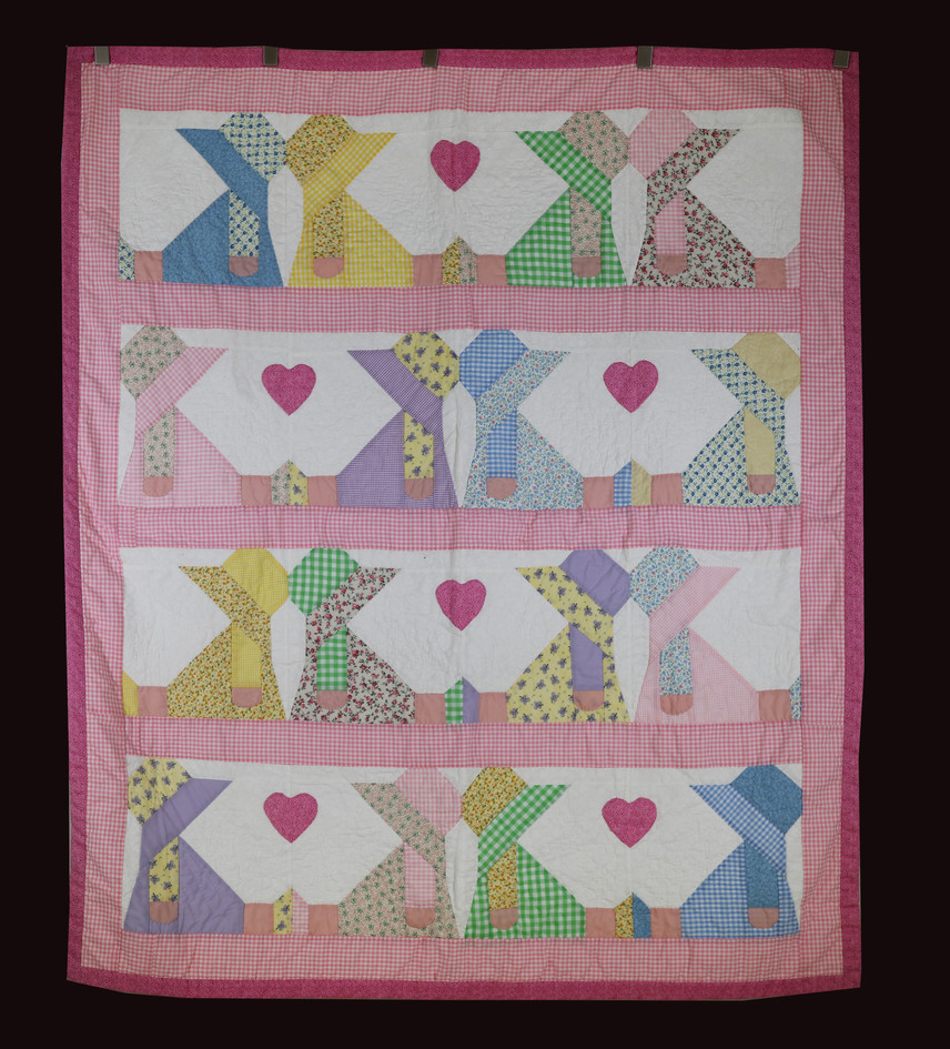 My Best Friend Baby Quilt by Linda Stringer