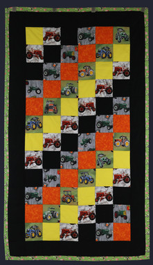 Tractor Quilt by Janet Willingham