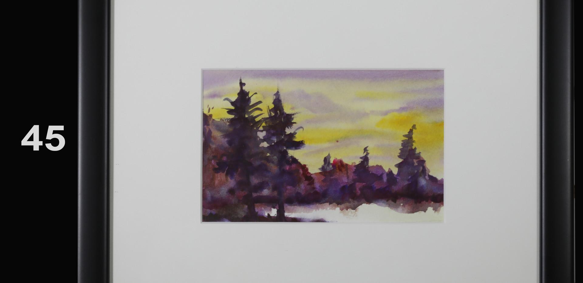 45. Violet Landscape