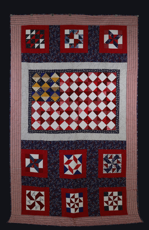 Patriotic Quilt by Charlene Howell Rabren