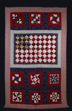 Patriotic Quilt by Charlene Howell Rabren