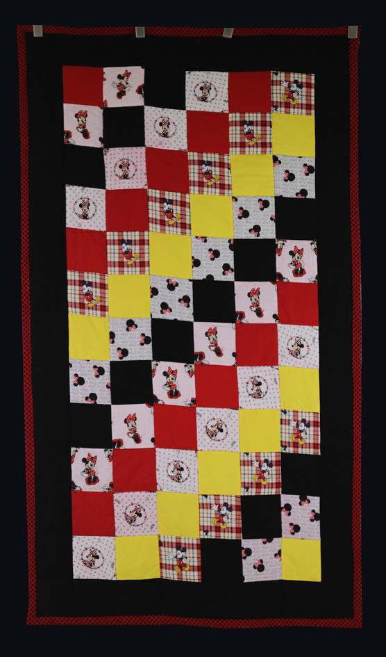Minnie & Mickey Quilt by Janet Willingham