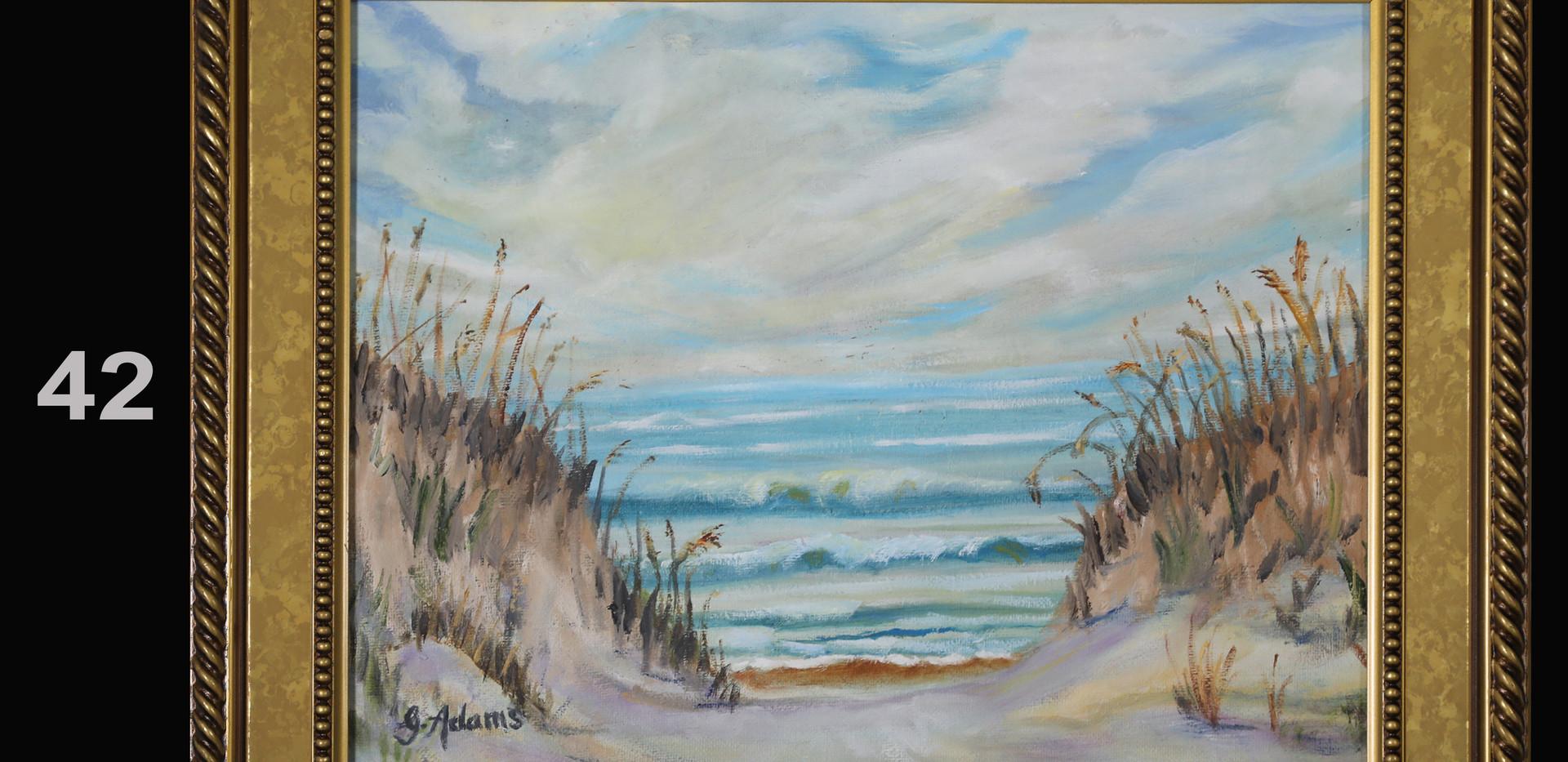 42. Sea Oats and Dunes