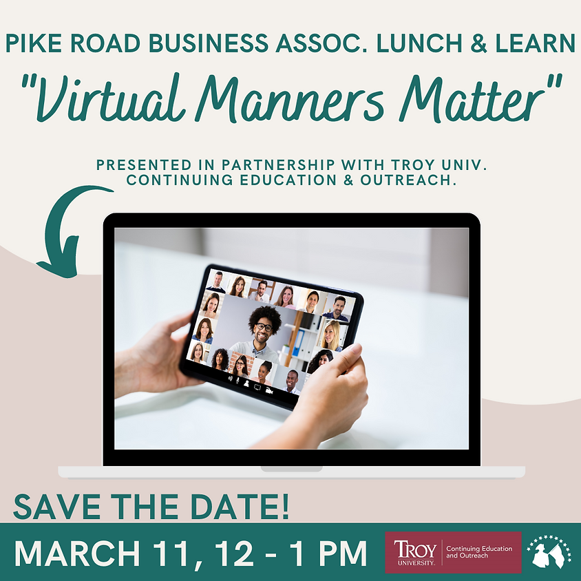 Lunch & Learn - Virtual Manners Matter