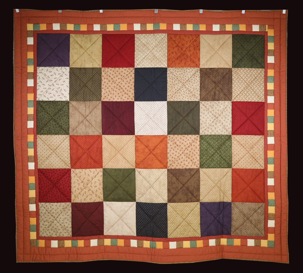 Cozy Couch Quilt by Nita Howell Forks