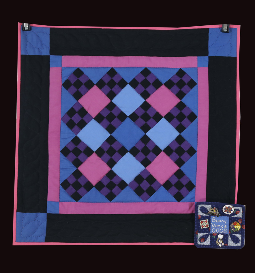 Amish Nine-Patch Quilt by Bunny Rittenour Smith