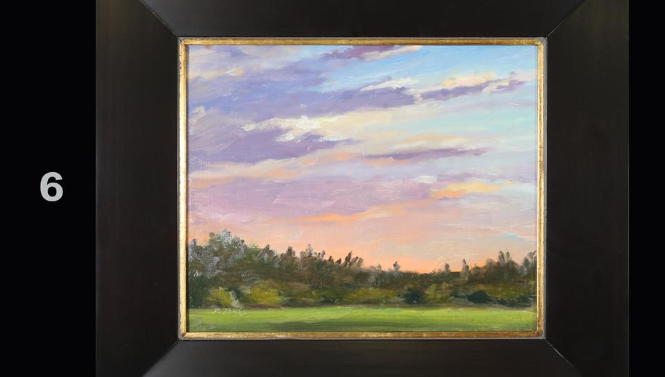 6. Sunrise on Beaver Pond Road