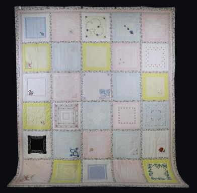 Handkerchief Quilt by Becky Neuenschwander
