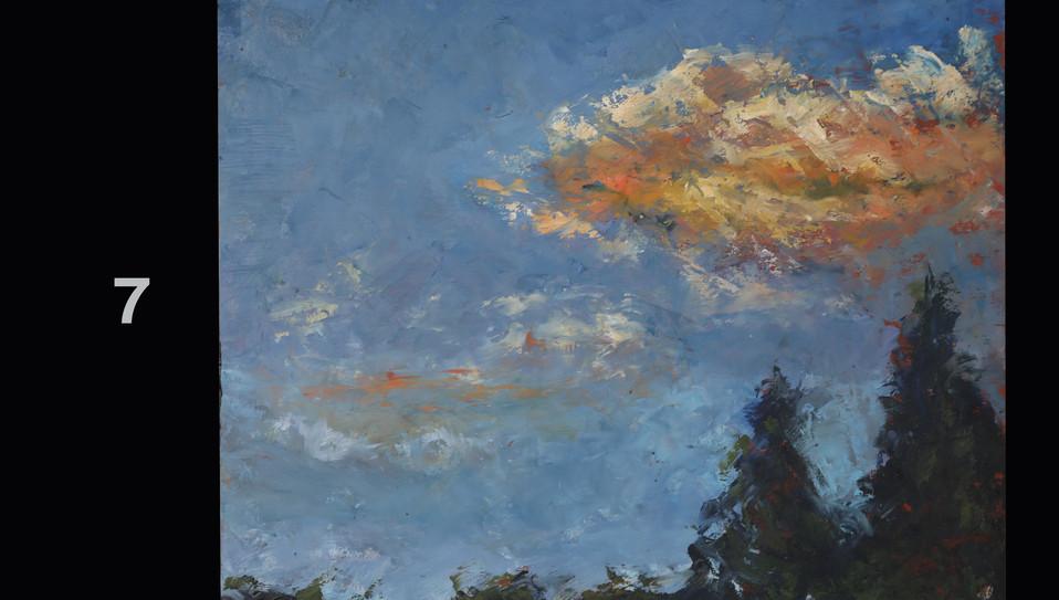 7. Evening Clouds