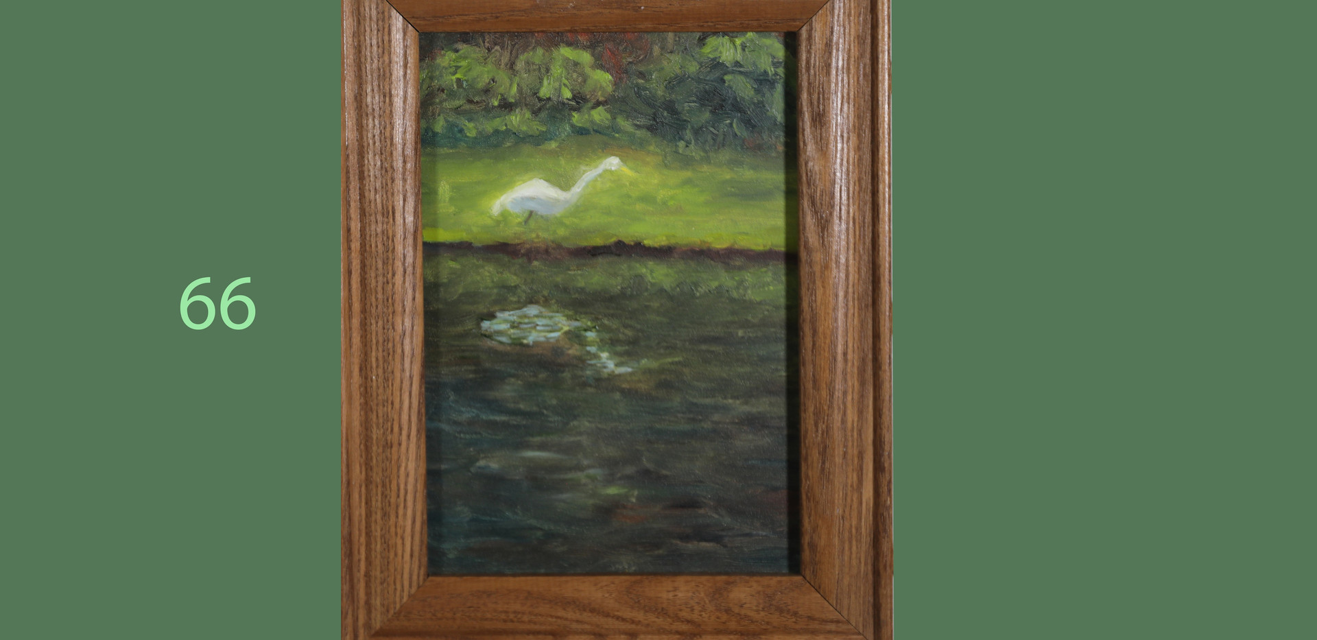 Egret at The Waters