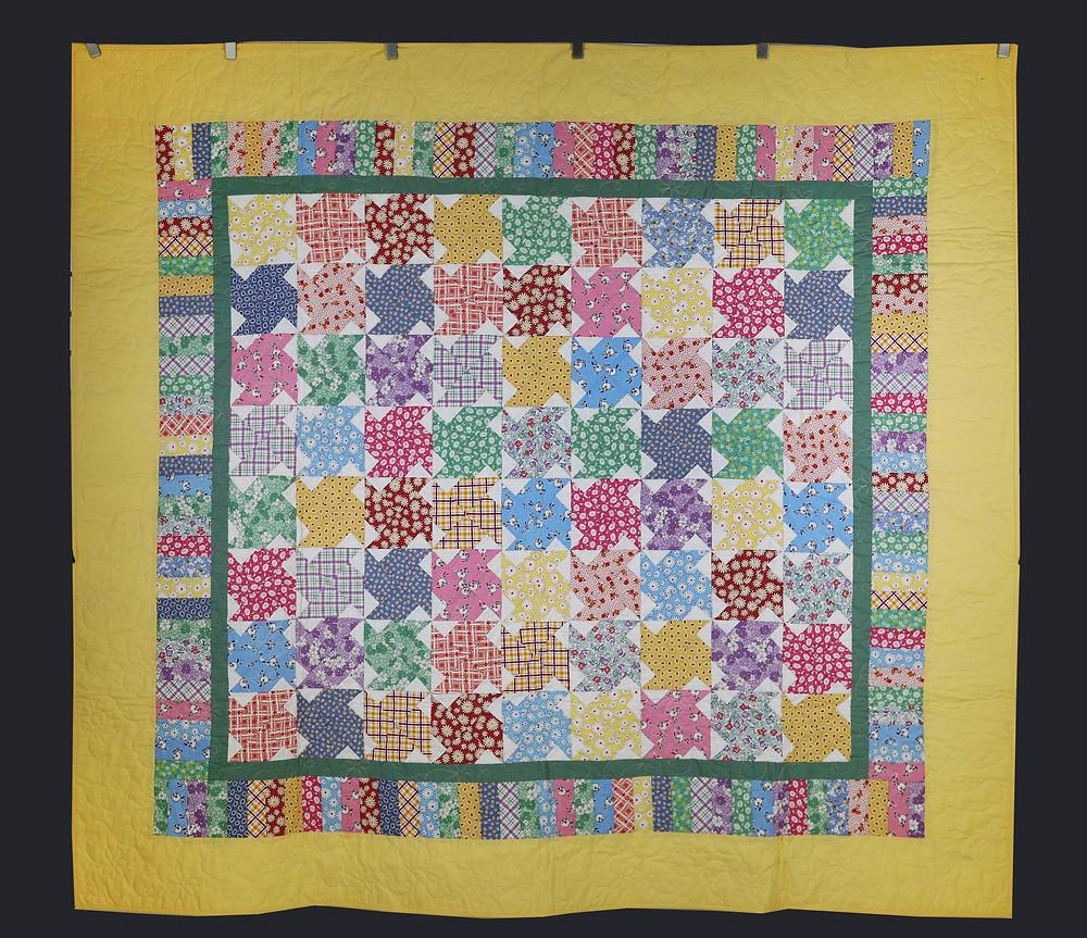 Windmill Pattern Quilt by Dee Mueller